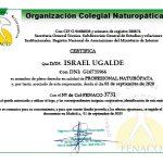 Certificado Colegiado Español