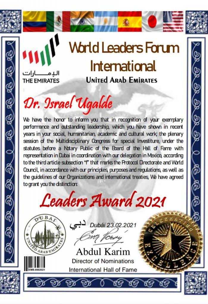 World Leaders Award 2021